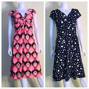 Bundle London Times Faux Wrap Dresses